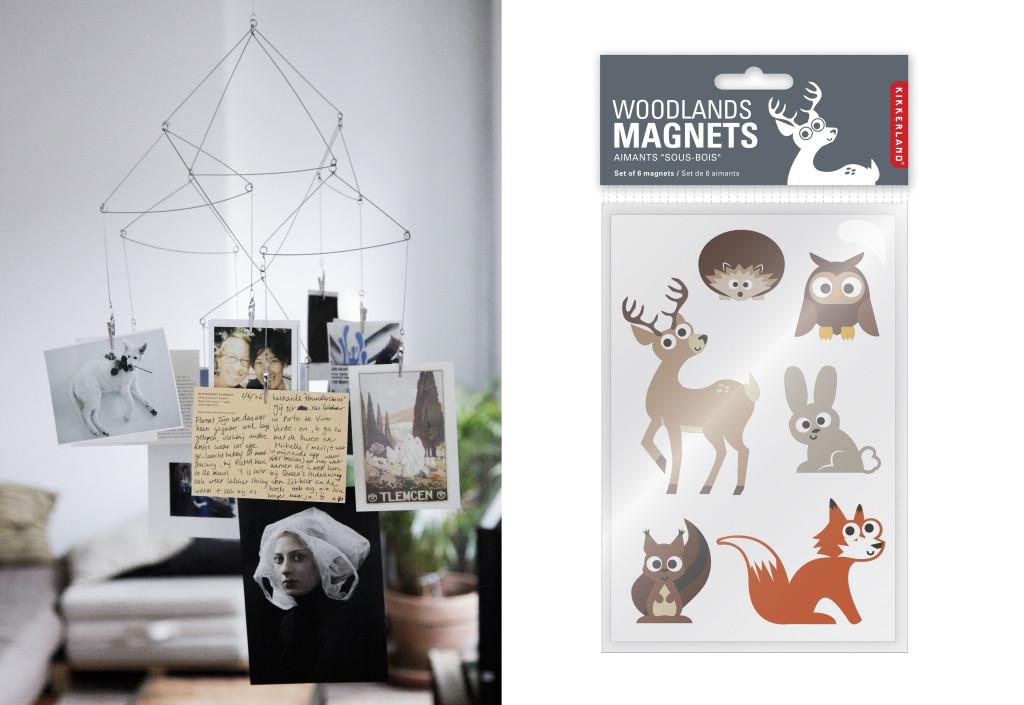 kikkerland druk en vorm kaarten magneten