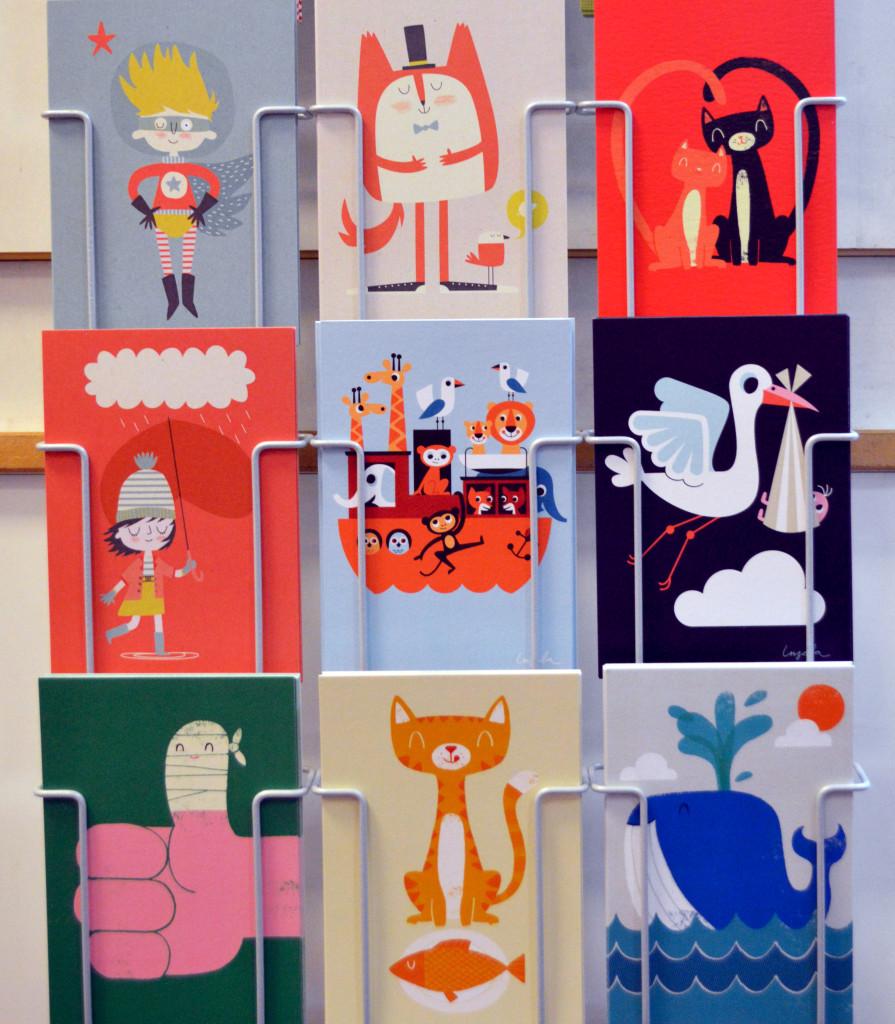 postkaarten druk en vorm